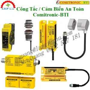 Đầu Đọc Thẻ Comitronic-BTI, Cảm biến an toàn Comitronic,