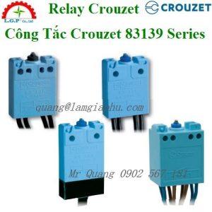 Rơ-le Chống Cháy Crouzet 83139103