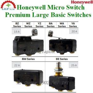 Công tắc Miro Honeywell BZ-2RW8072-A2